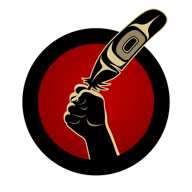 Idle No More - by Andy Everson